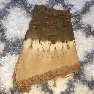 CUSTOM wrangler shorts